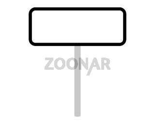 Ortsschild aus Portugal auf weiss - Road sign of Portugal on white