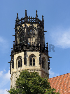 Münster - St. Ludgeri-Kirche, Vierungsturm, Deutschland