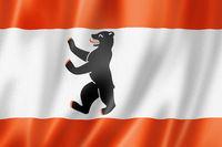 Berlin city flag, Germany