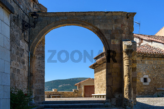 Scenic view of medieval village of Frias