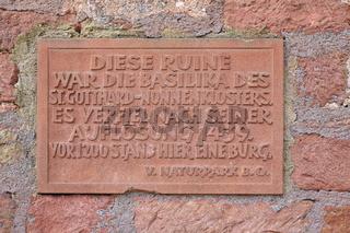 Gotthards Ruine bei Amorbach