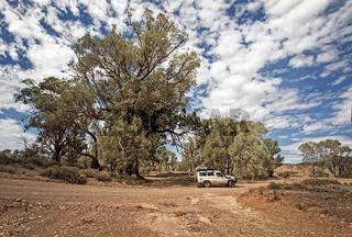 Outback Track at Flinders Range - South Australia