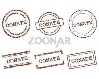 Donate Stempel - Donate stamps