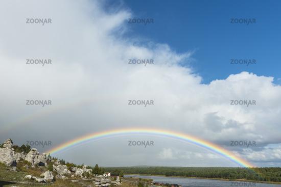 rainbow, Gotland, Sweden