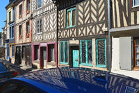 Half-timbered House in Honfleur /  France