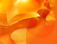 Bright abstract orange background