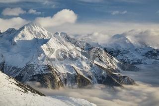 Winter in the Alps, Paradiski