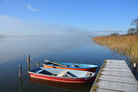 Latzig lake in mecklenburg-vorpommern