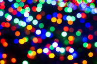 illuminated bokeh background