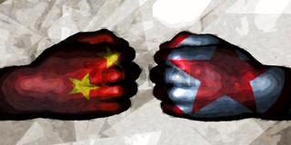 China vs North Korea
