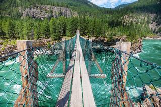 Bridge in mountain