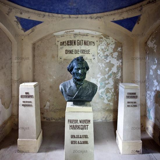Monument Friedrich Harkort, Weather, Germany.