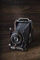 Antique medium range camera