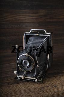 Antique medium range camera