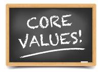 Blackboard Core Values