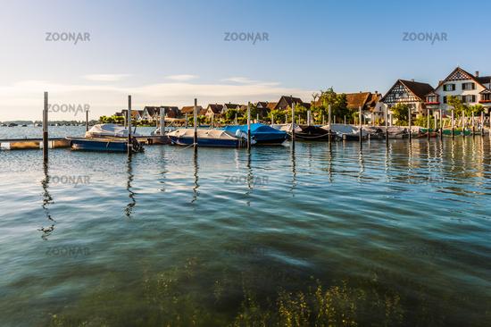 Ermatingen on Lake Constance, Canton Thurgau, Switzerland