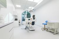 Dentistry medical office, special equipment