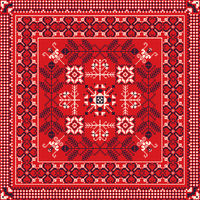 Romanian traditional pattern 215