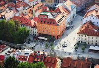Ljubljana city center, Slovenia