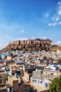 mehrangarh fort view