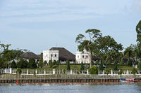 Astana Palace, official residence of the Governor of Sarawak, Kuching, Sarawak, Borneo, Malaysia