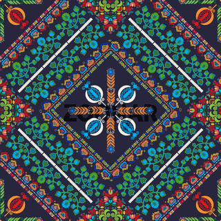 Hungarian embroidery pattern 56