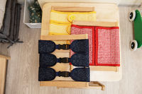 Montessori material for the learning of children