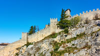 Ancient city walls of San Marino