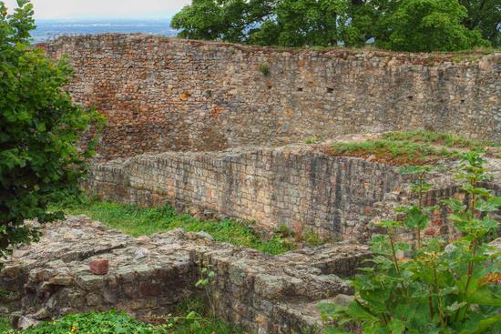 Castle walls of the Schauenburg ruin