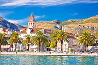 Trogir. Waterfront and  landmarks of Trogir town