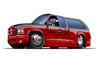 Vector Cartoon Van