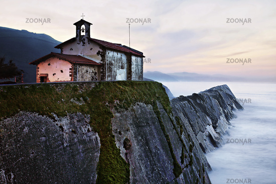 Zumaia, Basque Country, Bay of Biskay, Spain