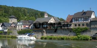 Dausenau an der Lahn,Rheinland-Pfalz,Deutschland