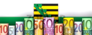 Freistaat Sachsen und Geld