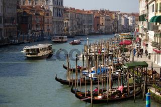 Canal Grande 001. Venedig. Italien