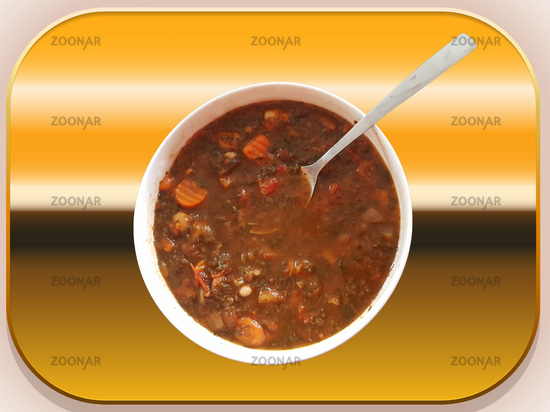 Galician vegetable soup