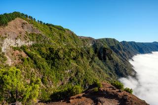 El Hierro, Canary Islands - Scenic landscape from Viewpoint Mirador de la Pena.