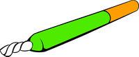 Marijuana joint icon, icon cartoon