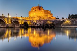 Das Castel Sant Angelo in Rom