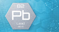 Chemical element of the periodic table - Lead