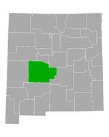 Karte von Socorro in New Mexico - Map of Socorro in New Mexico