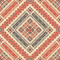 Romanian traditional pattern 124