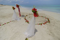 Hochzeit am Strand, Wedding on beach