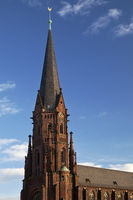 St. Augustinus church, Gelsenkirchen, Ruhr area, North Rhine-Westphalia, Germany, Europe