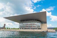 Royal opera house in Copenhagen
