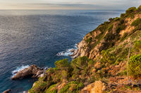 Costa Brava Sea Coast in Spain