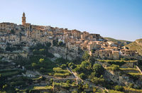 Picturesque Bocairent village, Spain