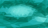green triangular background