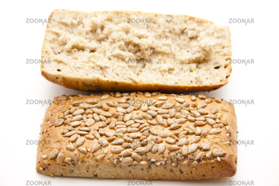 Fresh punch bread roll