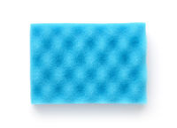 Blue dish washing sponge